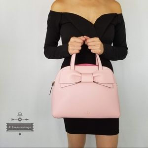 NWT Kate Spade Olive Drive Lottie Satchel Pink Bag